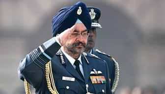 AVIATION &DEFENCE InIndia CAS flags concern on depleting fighter strength In his interview with a leading national daily in mid-june, Air Chief Marshal BS Dhanoa, Chief of the Air Staff has stated