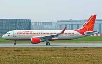 AVIATION &DEFENCE InIndia consistent performance in effective utilisation of its Airbus A320 aircraft and maintenance of top-notch dispatch reliability has given the company this recognition amongst