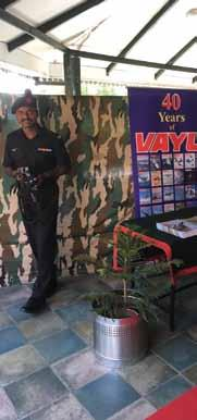 Lt Gen Kamal Davar and Brigadier Sharma at the Kasauli Club Seminar Vayu was the supporting media at the Seminar Former Chief of Army Staff, General VP Malik (retd), in his keynote address on