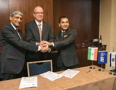 SLEW OF INDIA-ISRAEL JOINT VENTURES IAI agreement with Dynamatic Technologies and Elcom Systems for UAVs During the visit of Prime Minister Modi to Israel, Israel Aerospace Industries Ltd.