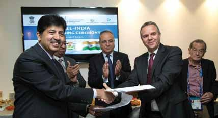 The co-operation agreement supports the existing infrastructure in India for current MRO (Maintenance Repair and Overhaul) programmes, while advancing the Indian government s Make in India initiative.
