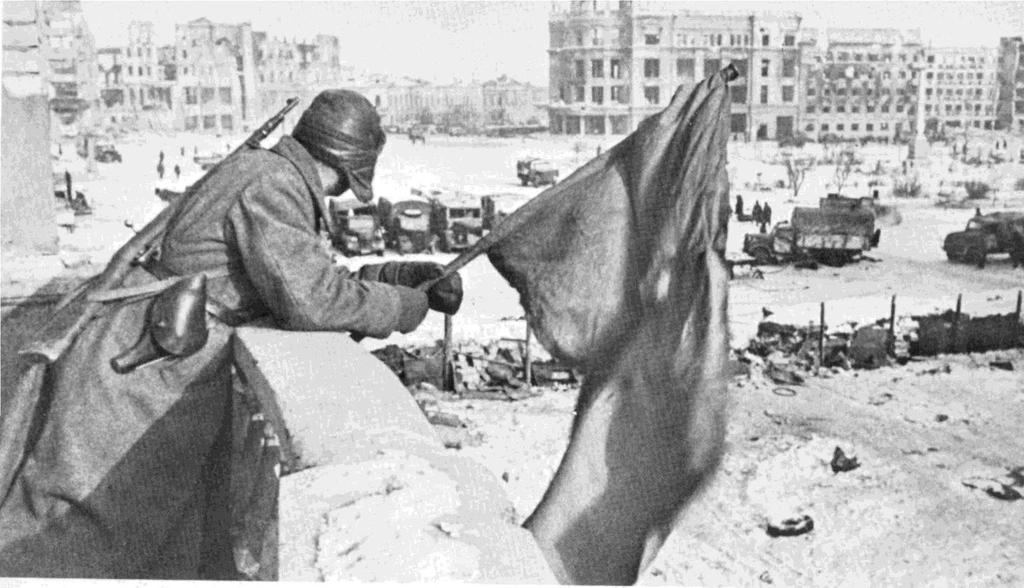 German troops invaded the Soviet Union in June 1941. Although stopped by the Soviet winter, Nazi forces took the offensive again in the summer of 1942.