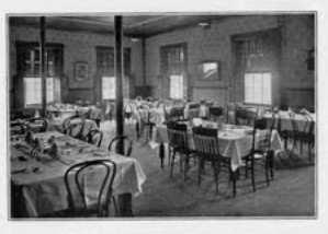 35 Academy Dining Room ca. 1915 (Bucknell University Archives, Digital Collection). source data and use restrictions at endnote No.
