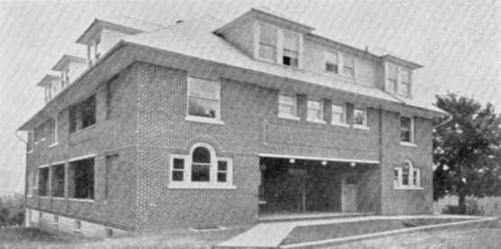 37 College Inn ca. 1934 (Bucknell University Archives, Digital Collection). See source data and use restrictions at endnote No. 4 campus legend.