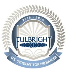 DOCTORAL/RESEARCH INSTITUTIONS RECEIVING FULBRIGHT AWARDS FOR 2015-2016 Those institutions highlighted in blue are listed in the Chronicle of Higher Education Institution State Grants Applications
