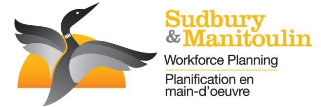 QUARTERLY ONLINE JOB VACANCIES REPORT* July st, 207 September 30 th, 207 Greater Sudbury Manitoulin District Sudbury District This report was prepared by: Workforce Planning for Sudbury & Manitoulin