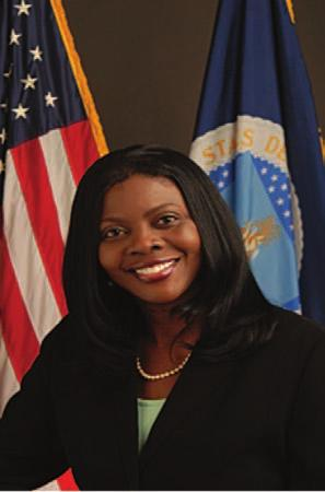 MONDAY LUNCHEON SPEAKER Dr. Chavonda Jacobs-Young is the Director of the Office of the Chief Scientist in the United States Department of Agriculture. In this role, Dr.