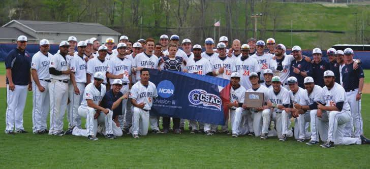athletic news Baseball and Track & Field Teams Claim Conference Championships Keystone s baseball and track & field teams enjoyed outstanding seasons this past spring, with the baseball team claiming