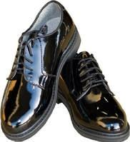 An example of male dress shoes can be found at: http://www.batesfootwear.com/us/en/leather-uniformoxford/20150m.html?