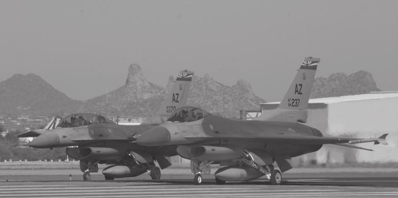 They are allies and they are friends. They learned to fly their F-16s at an Air National Guard base in Arizona.
