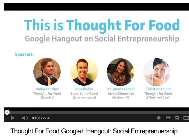 Google Hangouts leveraged as a medium to deliver