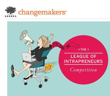 External Recognition In 2013, Thought For Food were selected finalist in the League of Intrapreneurs Competition sponsored by Ashoka and Ernst & Young Selected