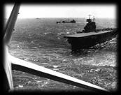 Halted USS Lexington