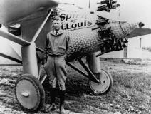 Charles Lindbergh, Jr. (1927 Solo Flight Across the Atlantic Spirit of St.