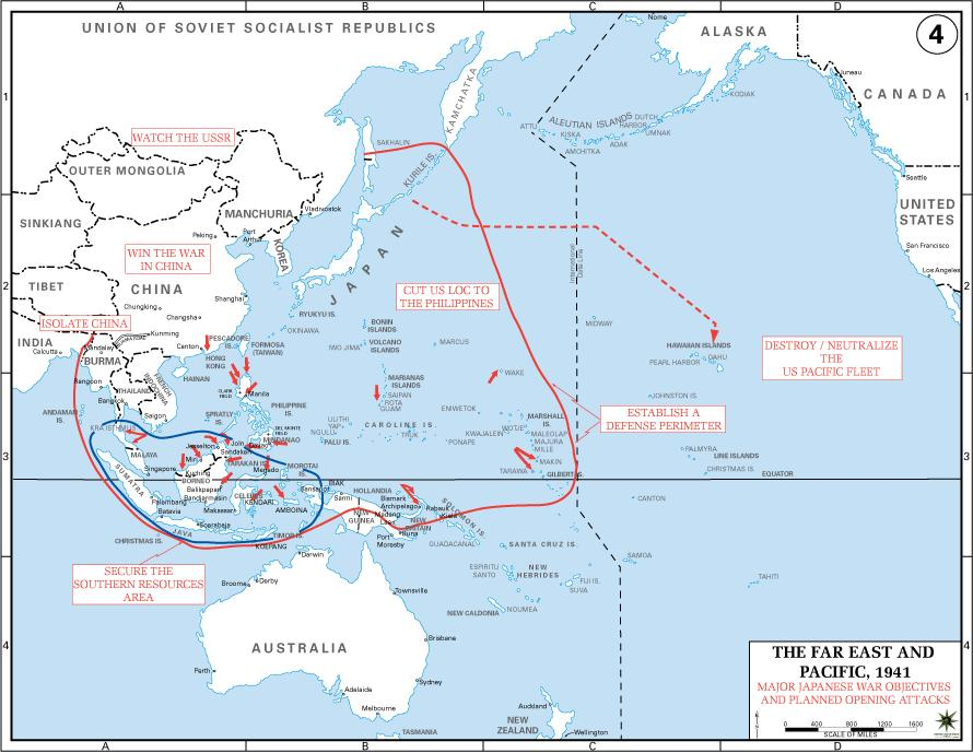 Pacific War Would get Second Priority Not an Immediate Threat to the