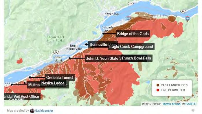 A tale of one emergency across two counties in the Columbia River