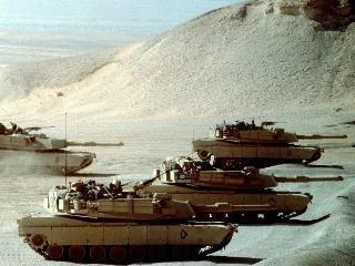 2-24-91 IRAQI TANKS & TROOPS NO MATCH FOR