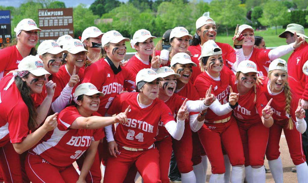 11 We need you! Boston University Athletics is a strong and impressive program. We have made enormous strides these last few years, and we look forward to taking on the challenges ahead.