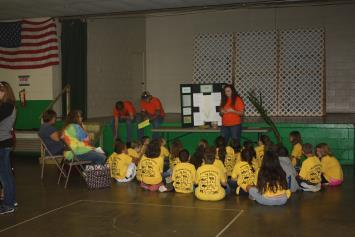 Westfall served as presenters for the students.