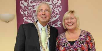 early summer 2012_21480_Layout 1 27/06/2012 09:49 Page 10 Wellingborough Chamber of Commerce Chamber President Alan Piggot s Report for the year 2011 to 2012 Twelve months ago, when I had the good