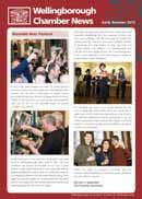 early summer 2012_21480_Layout 1 27/06/2012 09:48 Page 2 Wellingborough Chamber of Commerce Chamber Officer & Executive Team Responsibilities for 2011/2012 Alan Piggot Chamber President 01933 624222