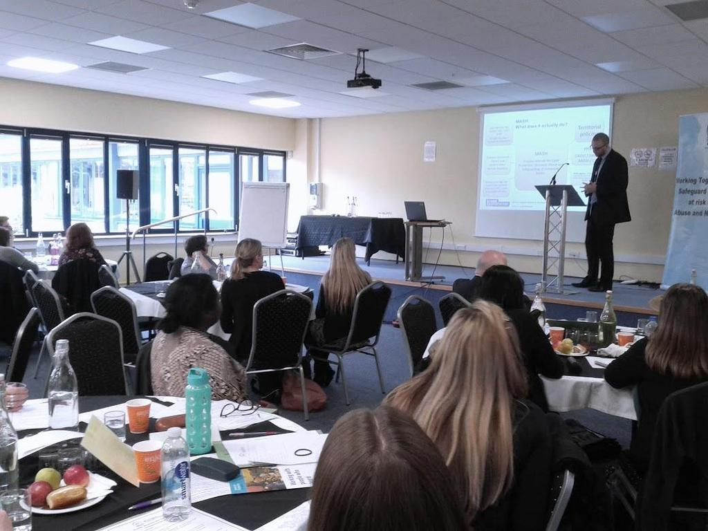 Extensive contact was made with hotels across the city and six sessions of bespoke training were delivered to five different hotels in partnership with the Operation Pheasant Team from the SPPB.
