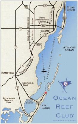 Directions to the Ocean Reef Club 35 Ocean Reef Drive, Key Largo, Florida 33037 Phone: 305.367.2611 * Fax: 305.367.2224 Email: info@oceanreef.com Directions from Ft.