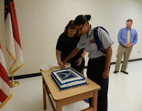 U.S. Air Force 69 th Birthday Cake in AFJROTC Mrs.