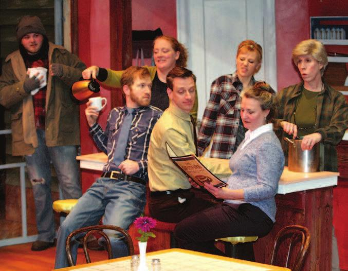 The cast of The Spitfire Grill, opening April 27. If you go What The Spitfire Grill Rochester Repertory Theatre 103 7th St.