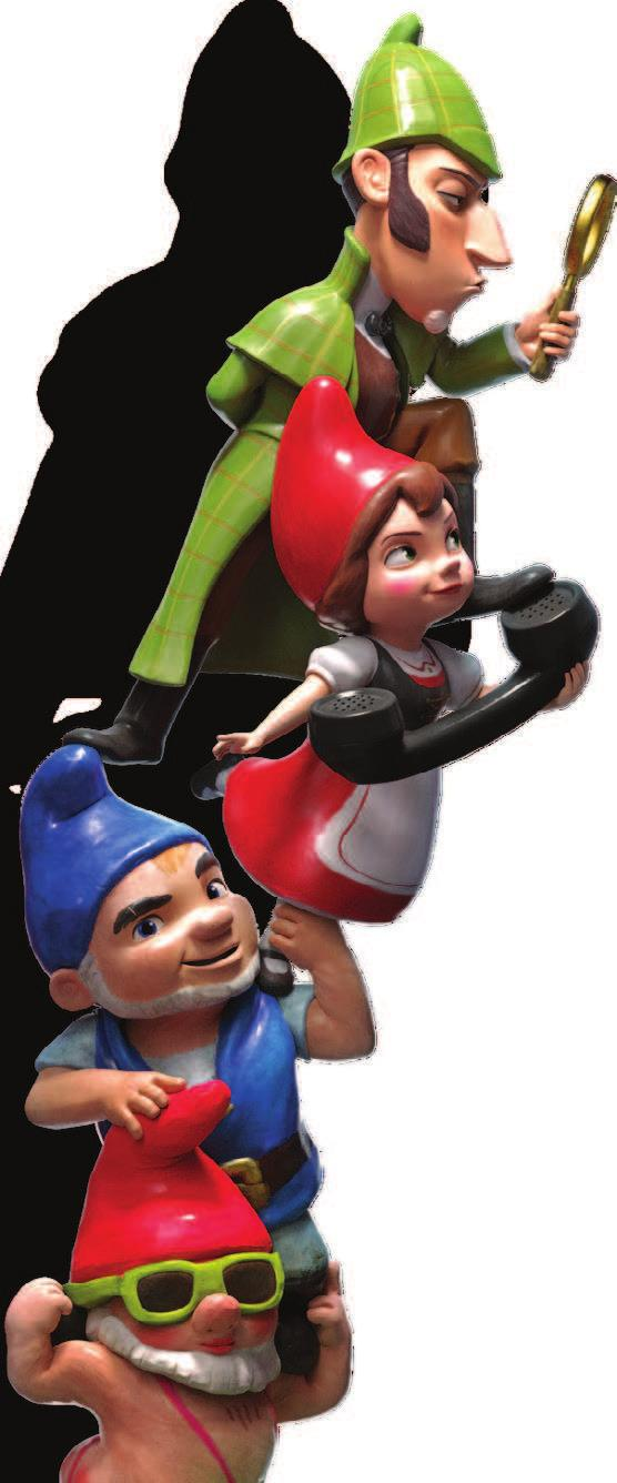unforgivable actions on that fateful night. Sherlock Gnomes (PG, 86 min.