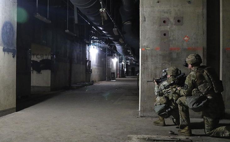 Photo by SSG Michael Armstrong, 2SBCT, 2ID Understanding an Underground Facility s Purpose Underground facilities are not a new addition to the modern battlefield.