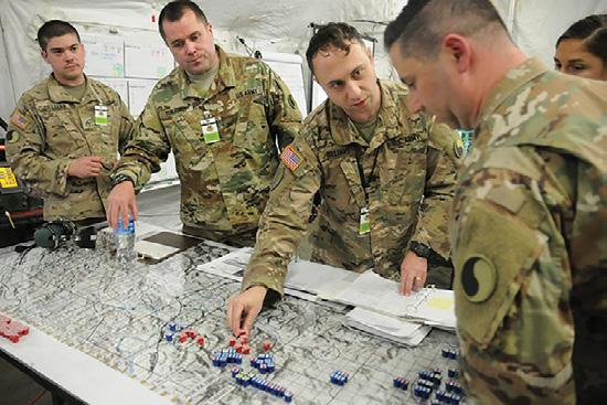 Doctrine advises the use of operational and mission variables when analyzing the operational environment. This does not change during large-scale combat operations.