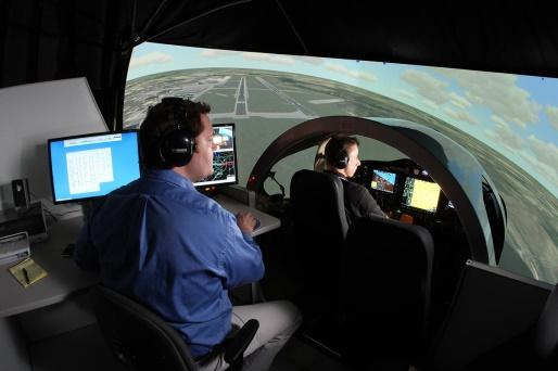 Today s visuals have never been so good and put you in the zone of actually flying the aircraft. Virtual reality, which includes broader visuals and 3 D imaging is growing in popularity.
