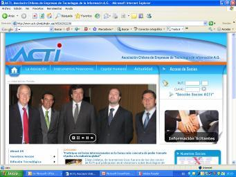 Founded in 1984 (25 years) Chilean Association of Information Technology Companies (ACTI) ACTI includes IT companies specialized in hardware, software, services, systems integration, IT enabled