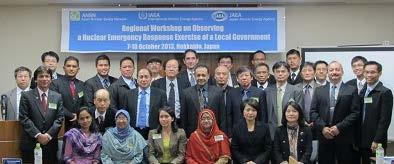 3-1 Present Situation and Approach in East Asia - Cooperation in East Asia (3/3) 21 Asian Nuclear Safety Network: ANSN The ANSN is a project for participating countries sharing of nuclear safety