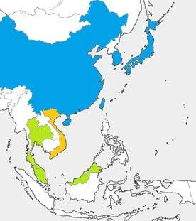 1-2 Introduction - Nuclear Power Stations in East Asia 7 In East Asia, 100 nuclear reactors are in operation. In the future, Southeast Asian countries are expected to introduce nuclear reactors.
