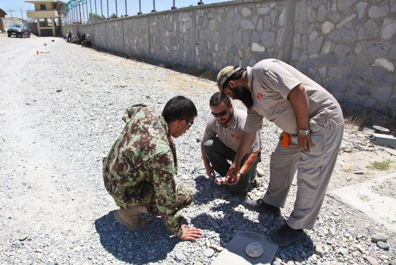 ANA Train the Trainer Course at FOB Gamberi Afghan National Army Staff Sgt.