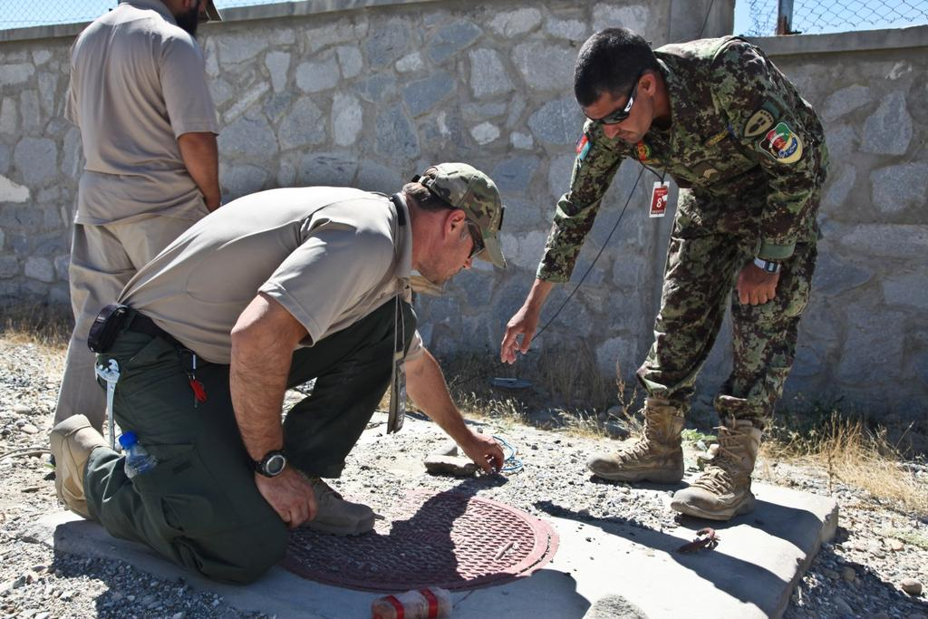 demolition training course at Forward Operating Base Gamberi, Laghman province, Afghanistan, June 11, 2014.