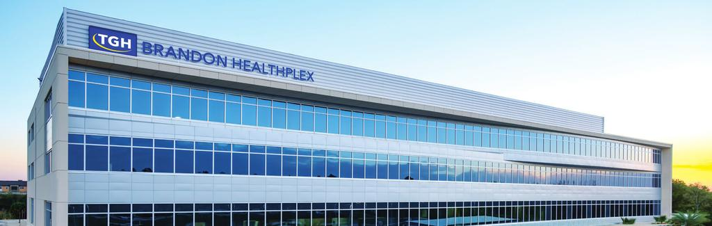 The TGH Brandon Healthplex is home to a free-standing emergency care center,