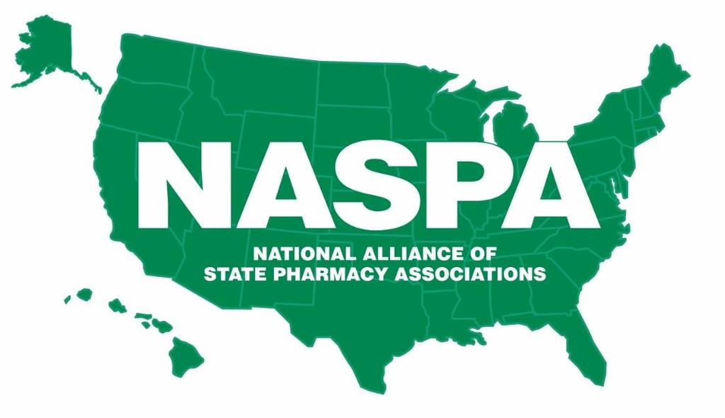 The National Alliance of State Pharmacy Associations (NASPA), founded in 1927 as the National Council of State Pharmacy Association Executives, is dedicated to enhancing the success of state pharmacy