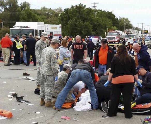 Parade tragedy spurs Oklahoma National Guard to action About 30