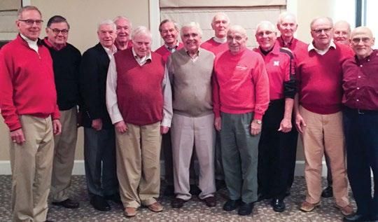 Club and Alumni News 03 In October, Nebraska Alpha s 1956 pledge class celebrated their 60th Anniversary and returned to the University of Nebraska for the homecoming game.