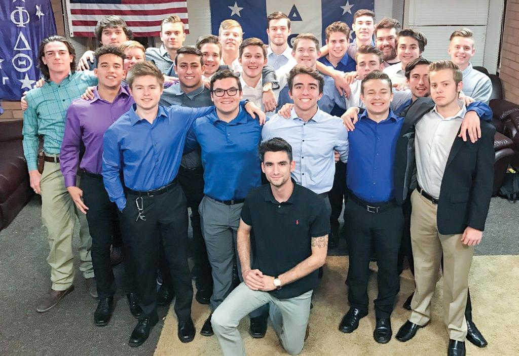 Arizona Gamma raised over $10,000 during the month of October and became an Iron Phi Chapter.