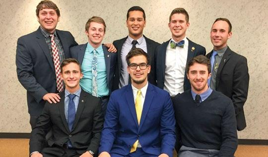 Chapter News University of Akron Ohio Epsilon 01 The men of the Ohio Epsilon Chapter were very busy during the fall semester. The year began with a strong recruitment cycle.