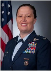 She has logged over 2,000 hours in F- 15Cs and T-38Cs as a command pilot. After receiving her B.S. in computer science from the U.S. Air Force Academy, she attended several officer schools and received her M.