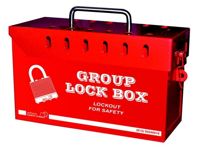 Lock boards / lock boxes Lock boards and lock boxes are used to secure keys for isolation locks used during complex and tiered isolations.