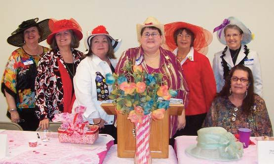 Continued from Page 19 Woman s Club Cleveland s Woman s Club Hosts Annual Friendship Tea CLEVELAND -- Members of the Woman s Club of Cleveland gathered for their annual Friendship Tea at the