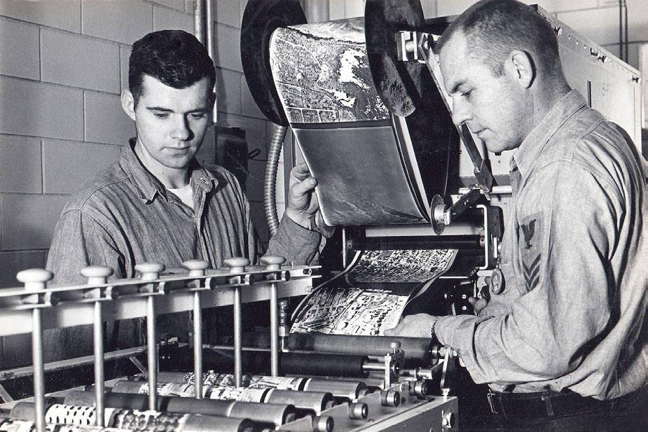 1958 at Naval Air Station