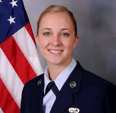 Jennifer Cheslak, 148th Fighter Wing Force Development Superintendent.