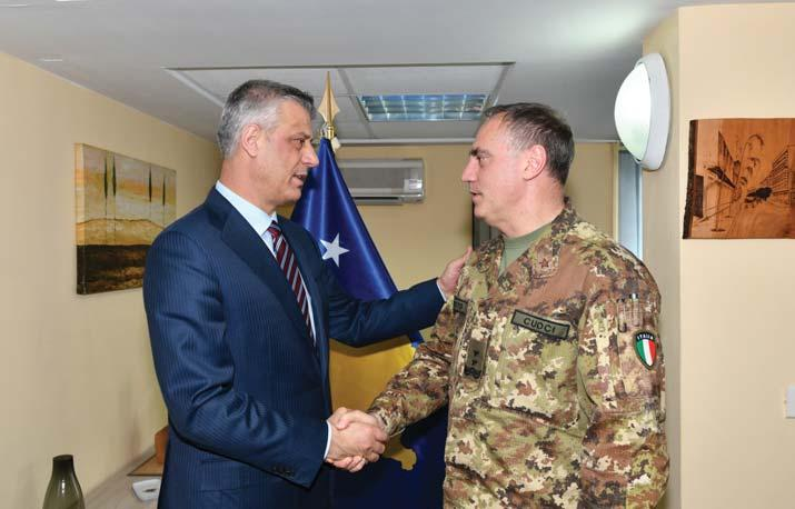 Deputy Chief of General Staff CZE, at KFOR Headquarters.